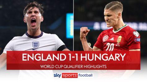 England 1-1 Hungary
