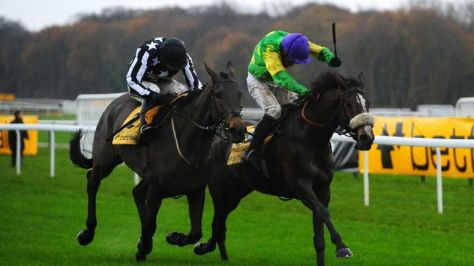 Brennan and Imperial Commander are beaten in the Betfair Chase by Ruby Walsh and Kauto Star
