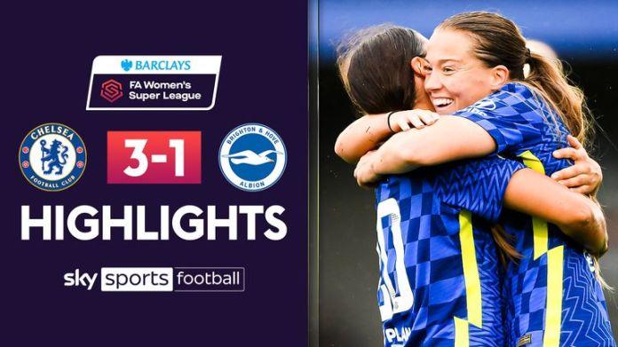 WSL: Chelsea v Brighton