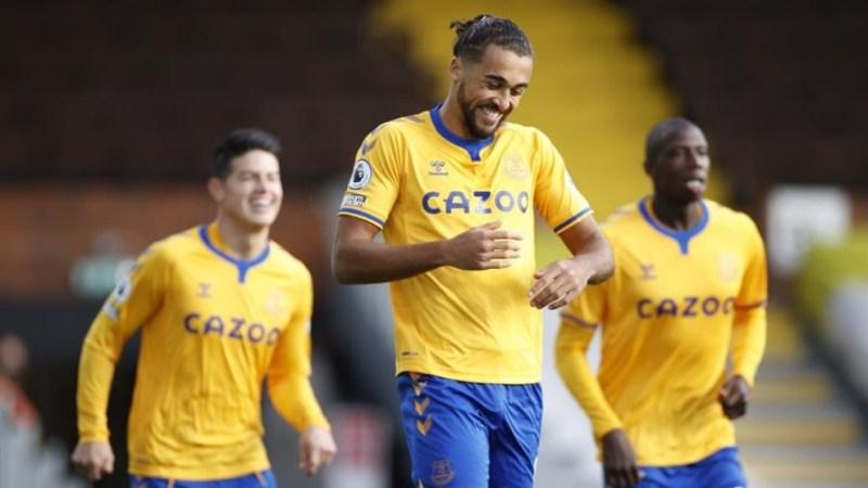 Fulham vs Everton: ¡El Everton marca gracias a Calvert-Lewin a los 40  segundos!   MARCA Claro Colombia