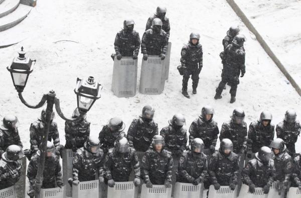 Tensión y lágrimas en Kiev - El presidente Yanukovich ha ...