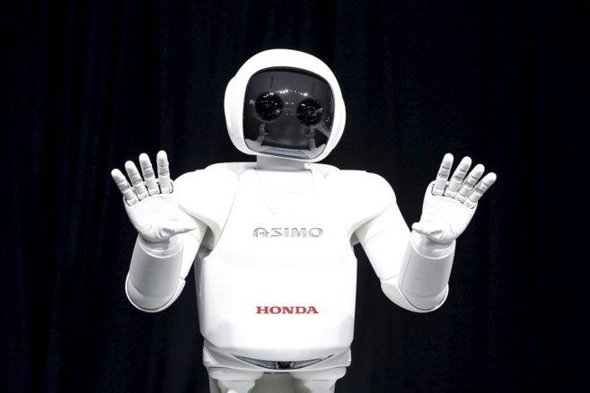 El robot humanoide 'Asimo' de Honda.
