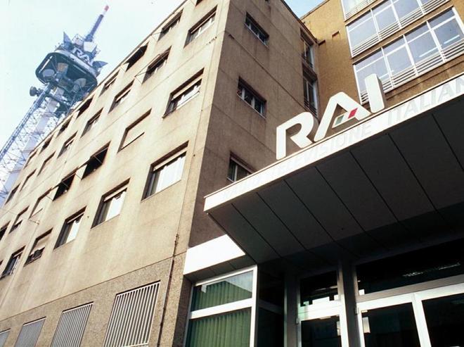Sede de la RAI, en Milán.