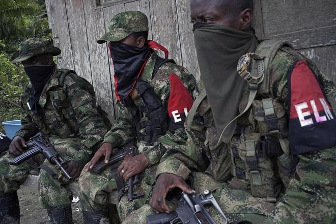 Resultado de imagen para venezolanos reclutados eln