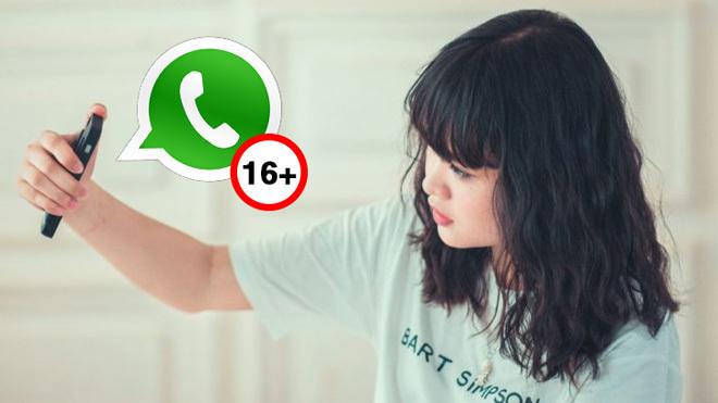 WhatsApp prohibiría su uso a menores de 16 años