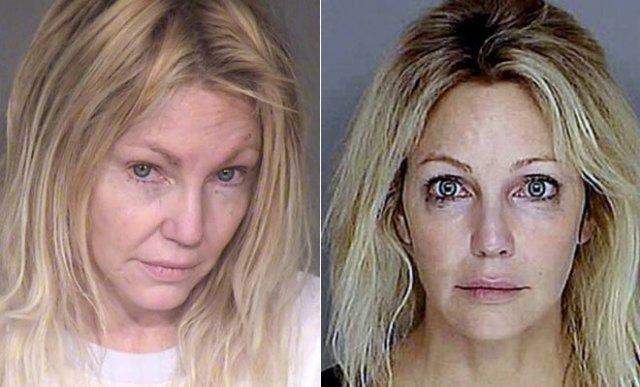 Heather Locklear En Dos De Sus Ultimas Fotos Policiales