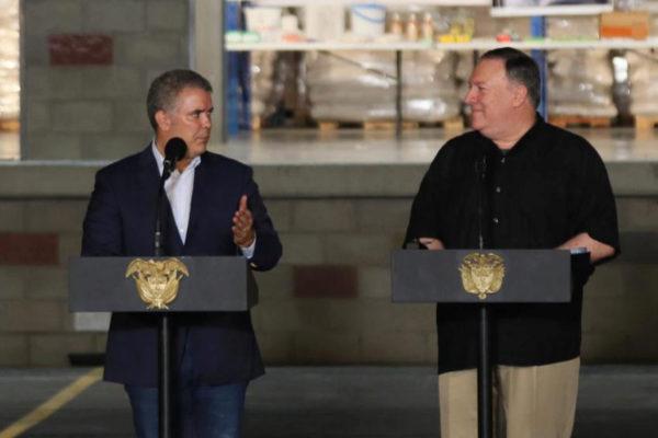 AME805. CÚCUTA (COLOMBIA), 14/04/2019.- El secretario de Estado de...