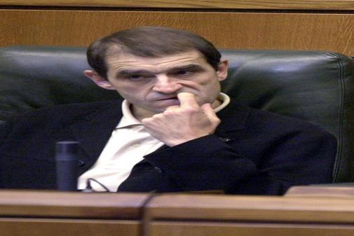 Josu Venera, im baskischen Parlament im Jahr 2001.