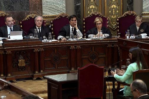 L'avocate Silvia Carmona déclare dans le procès 1-O