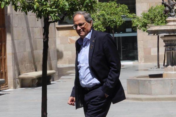 Antonio Moreno 04.07.2019.Barcelona Cataluña. El president...