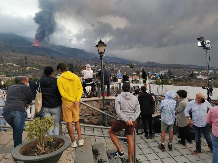Volcán en La Palma, la erupción en directo   El volcán entra en fase  explosiva   Ciencia