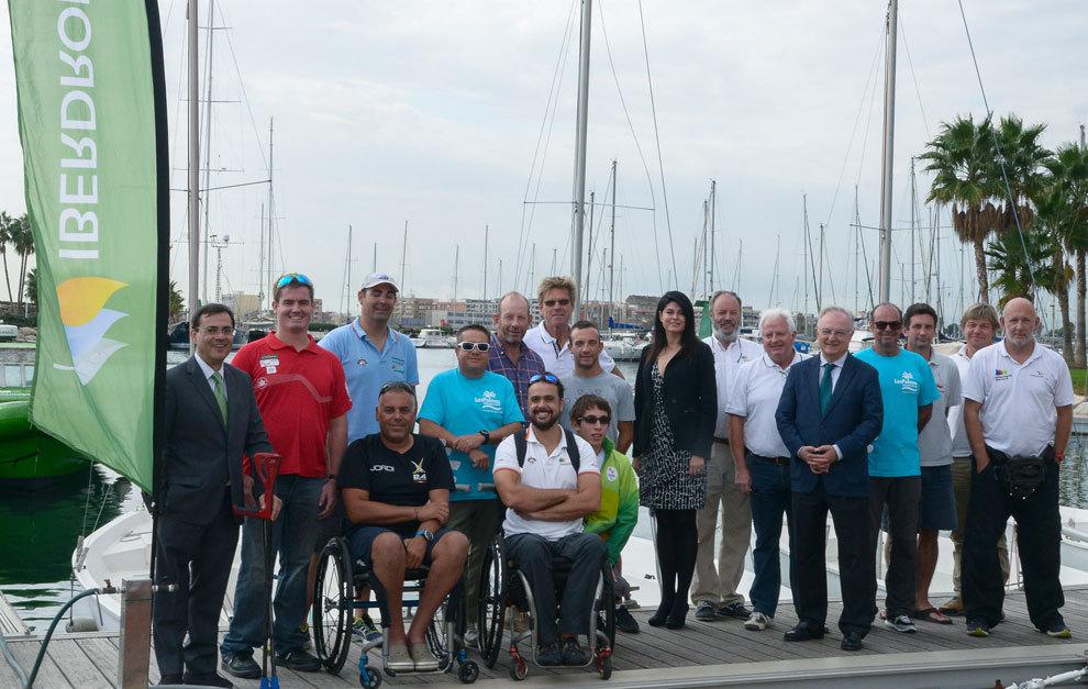Presentación del III Campeonato de Europa de Vela Paralímpica - VI...