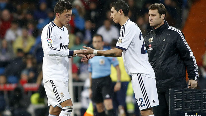 di maria and ozil want real madrid