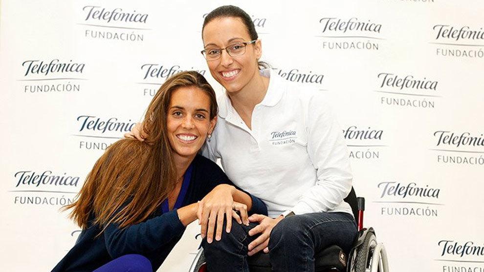 Ona Carbonell, que apoyó la igualdad de olímpicos y paralímpicos en...