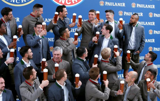 The Bayern Munich squad