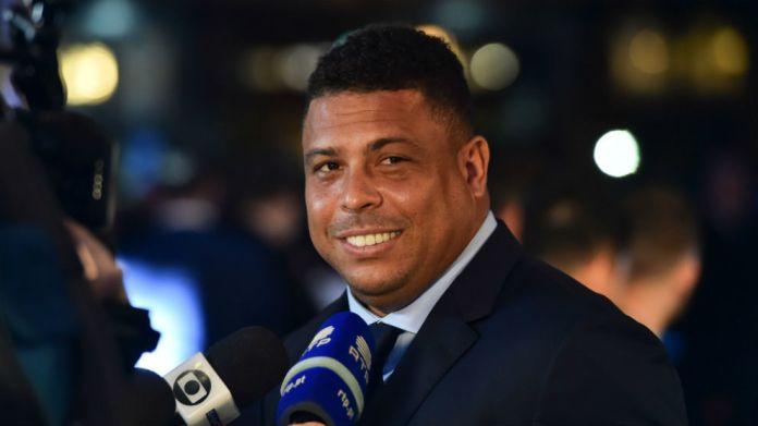 Ronaldo Nazario durante la gala de los premios The Best Glyn KirkAFP