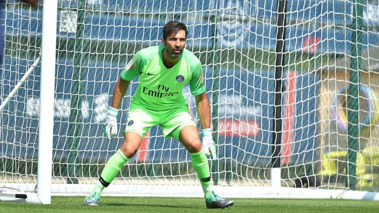 Image result for psg + buffon  PSG manager reveals the Manchester United stars he is scarred of facing 15316648277638