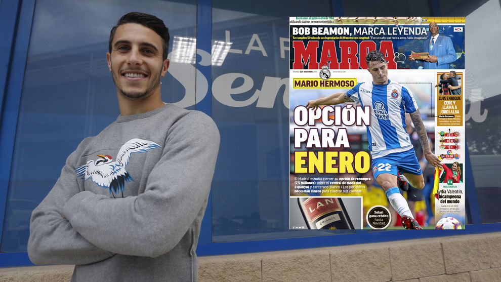 Mario Hermoso.