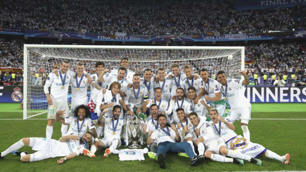 Real Madrid's side