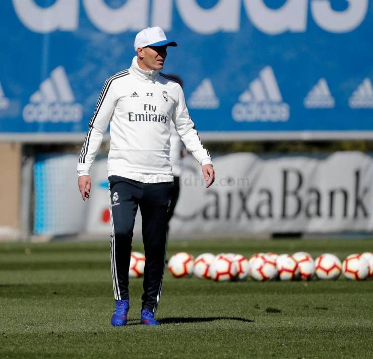 PHOTOS: CHECK OUT ZIDANE'S FIRST TRAINING SESSION BACK AT REAL MADRID AHEAD OF CELTA VIGO'S CLASH 15524800241054 1300x0