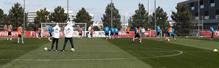 PHOTOS: CHECK OUT ZIDANE'S FIRST TRAINING SESSION BACK AT REAL MADRID AHEAD OF CELTA VIGO'S CLASH 15524800243765 1300x0