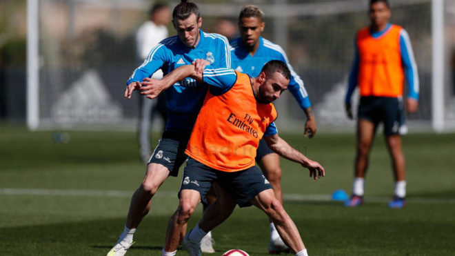 Dani Carvajal and Gareth Bale