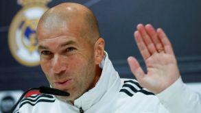 Zidane during his press conferece.