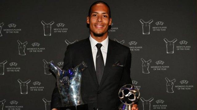 Champions League: Van Dijk, jugador del año para la UEFA | Marca.com