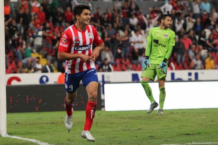 4.- Nicolás Ibáñez | Atlético de San Luis | 9 goles