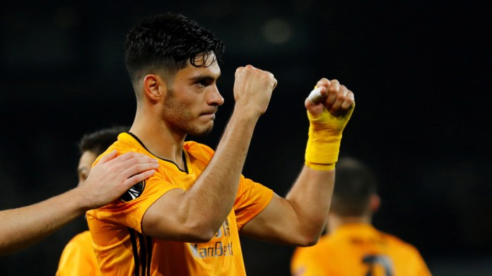 The Mexican striker gave the Wolves the victory goal against ...