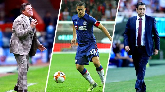 Miguel Herrera, Ivan Marcone and Luis Fernando Tena star in the ...
