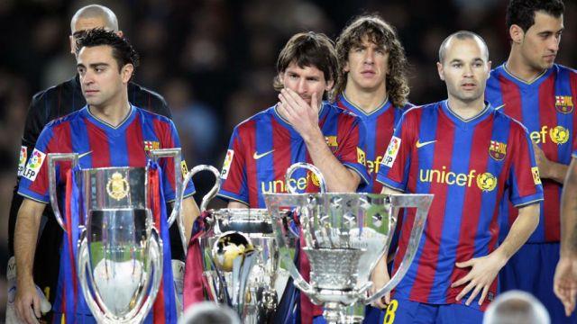 FC Barcelona: El Camp Nou homenajeará a los equipos del sextete ...