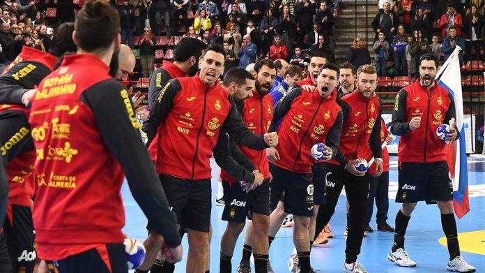 European Handball 2020 Spain Latvia Live The Debut Of The