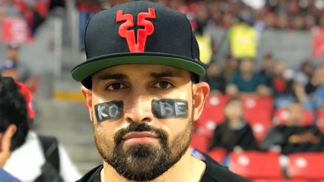 En la final de la LMP, Anthony Giansanti conmemora a Kobe Bryant