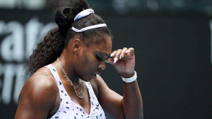 Serena, during a match