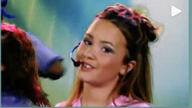 Demi Lovato at 11 to