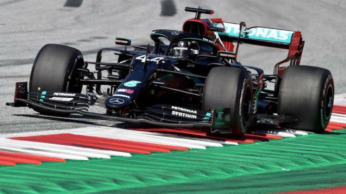 Lewis Hamilton, en el GP de Estiria de F1.