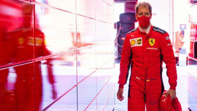 Vettel, en el GP de Estiria.