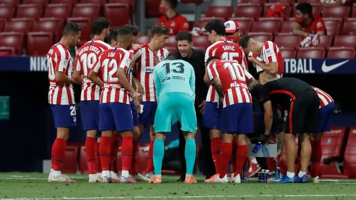 Atletico Madrid confirm two positive coronavirus tests ahead of Champions League quarter-final