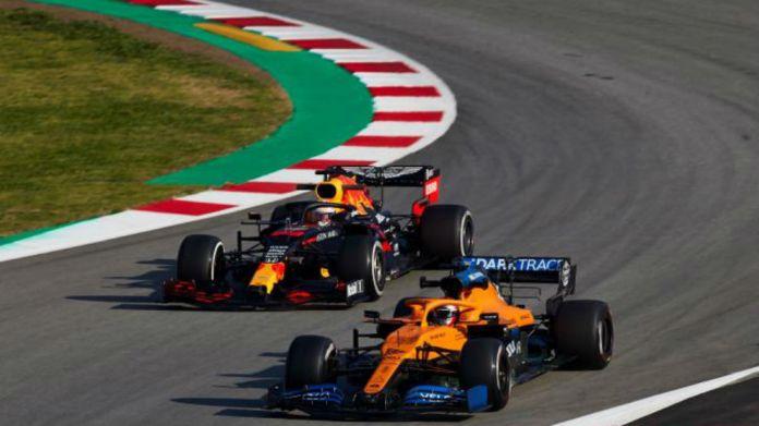 Carlos Sainz y Max Verstappen.