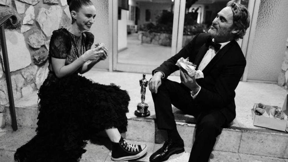 Joaquin Phoenix y Rooney Mara, padres de un niño, River | Marca.com