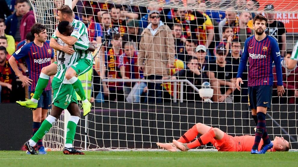 Barcelona - Betis, en directo | Loren pone el 3-2 en el marcador