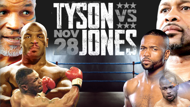 Mike Tyson vs Roy Jones: Mike Tyson vs Roy Jones Jr: Boxing travels to the  past with two of the best in history | MARCA in English