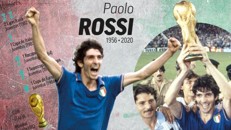 Muere Paolo Rossi, héroe italiano del Mundial de España 82: Ciao 'Pablito'  | Marca.com
