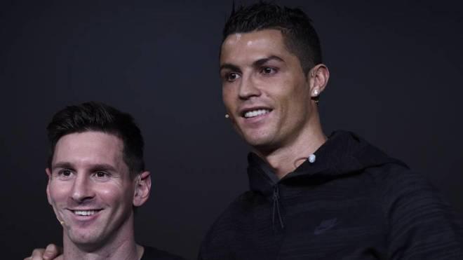 Messi dhe Ronaldo