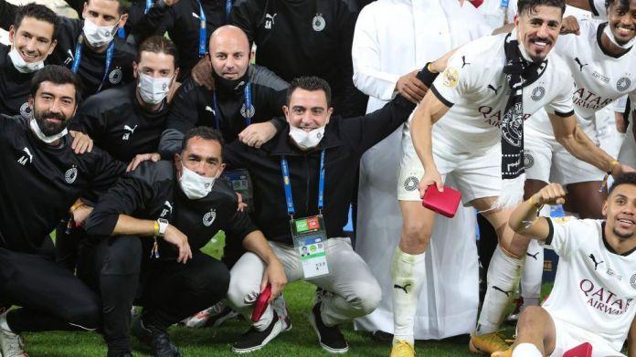 Xavi feston fitoren e kupës