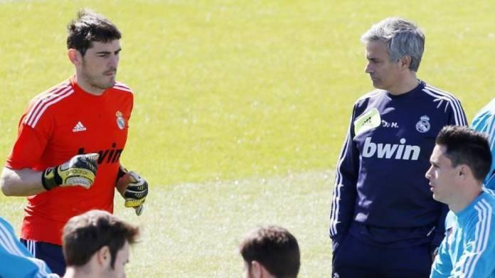 Casillas dhe Mourinho