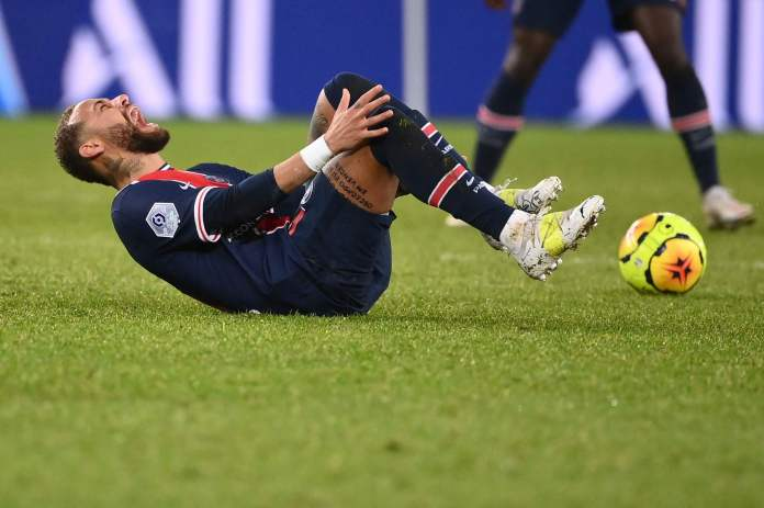 Neymar jashtë deri në janar