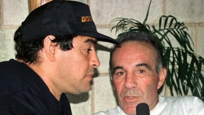 Diego Maradona dhe Alfredo Cahe