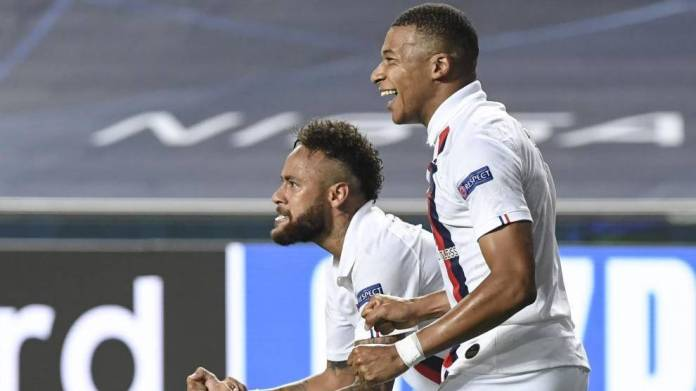 Neymar dhe Mbappe